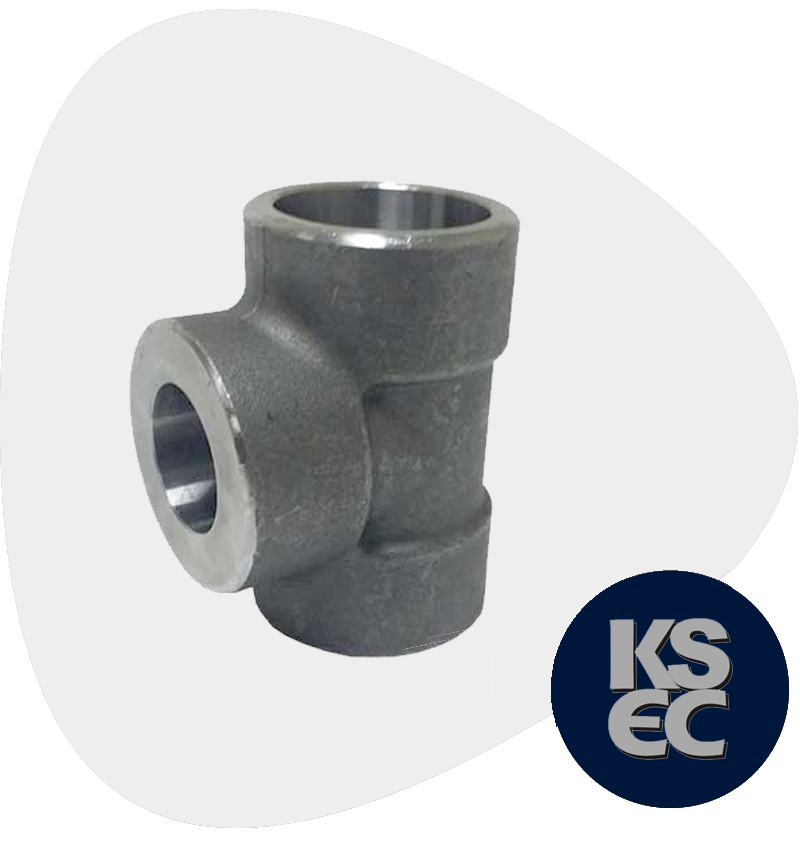 Alloy Steel Forged Socket Weld Unequal Tee