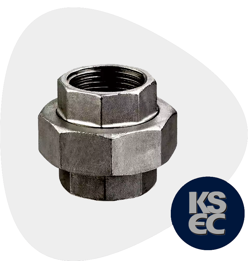 Alloy Steel Forged Threaded Union