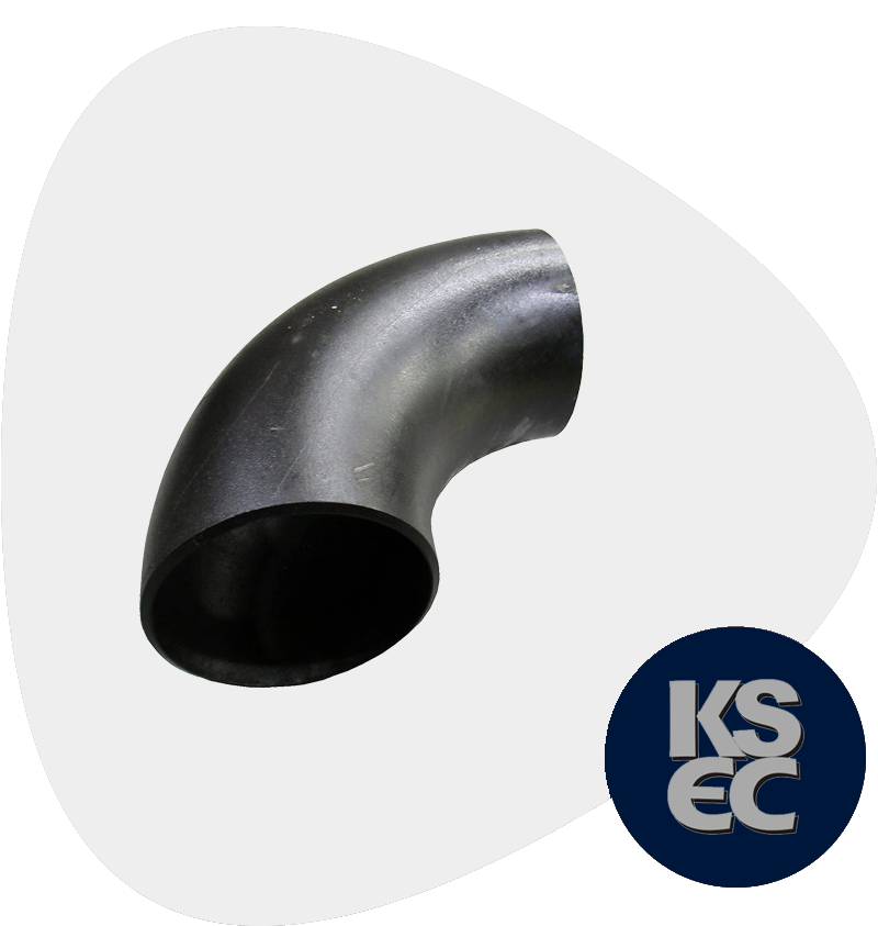 Carbon Steel Butt weld 90° Long Radius Elbow