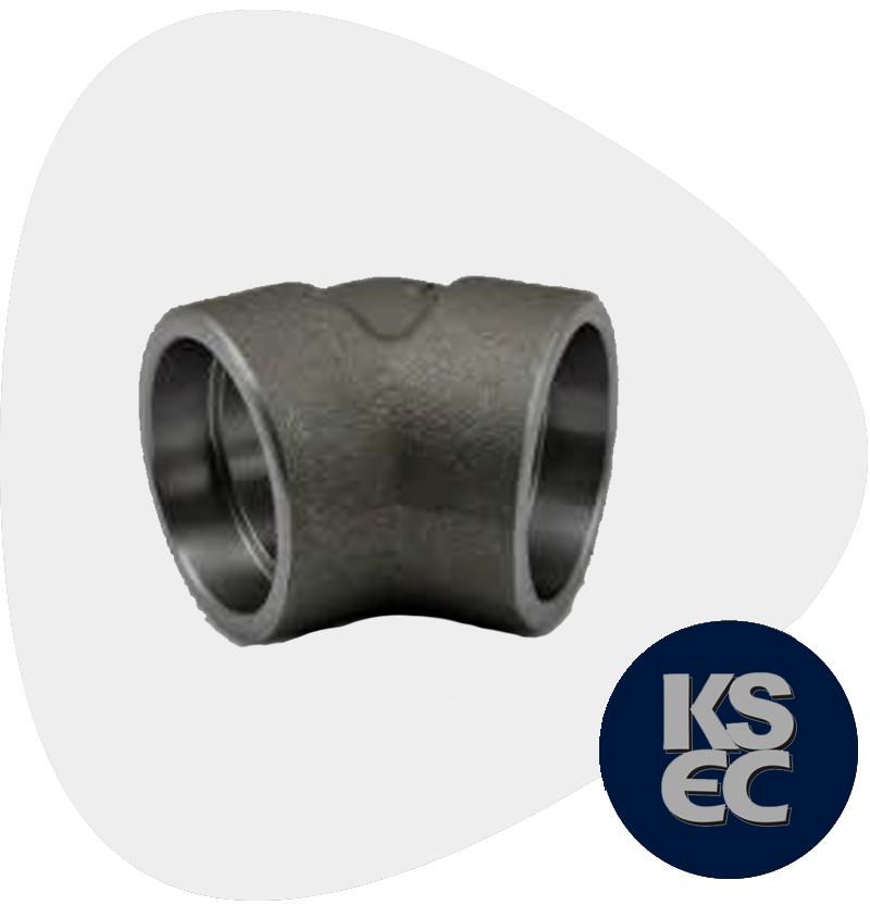 Carbon Steel Forged Socket Weld 45 Degree Elbow