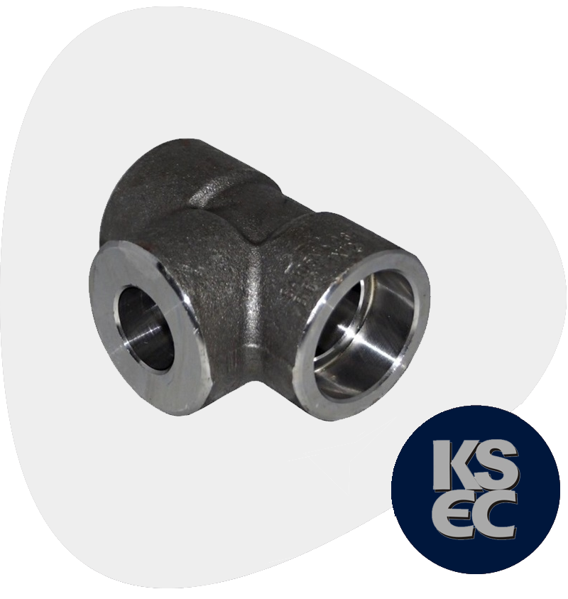 Carbon Steel Forged Socket Weld Unequal Tee