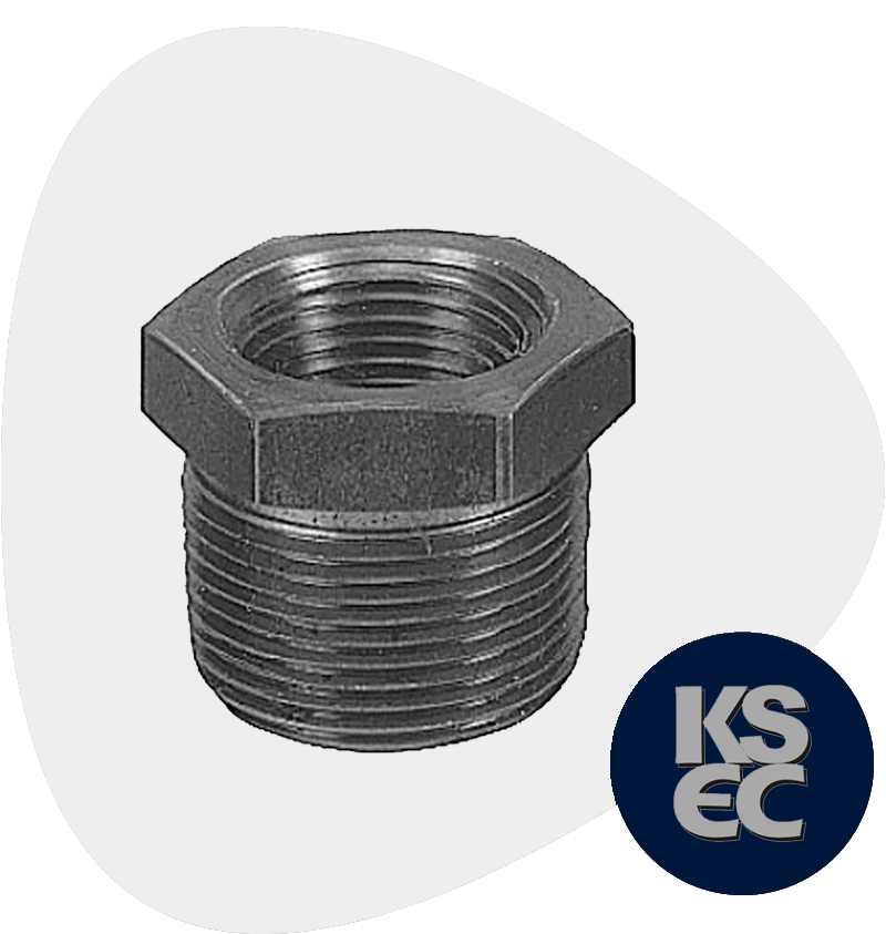 Carbon Steel Forged Threaded Hex Head Bushings