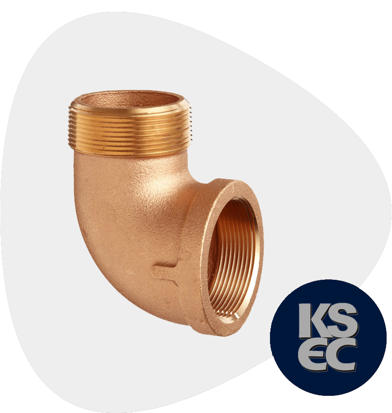 Cupro Nickel Forged Threaded Street Elbow