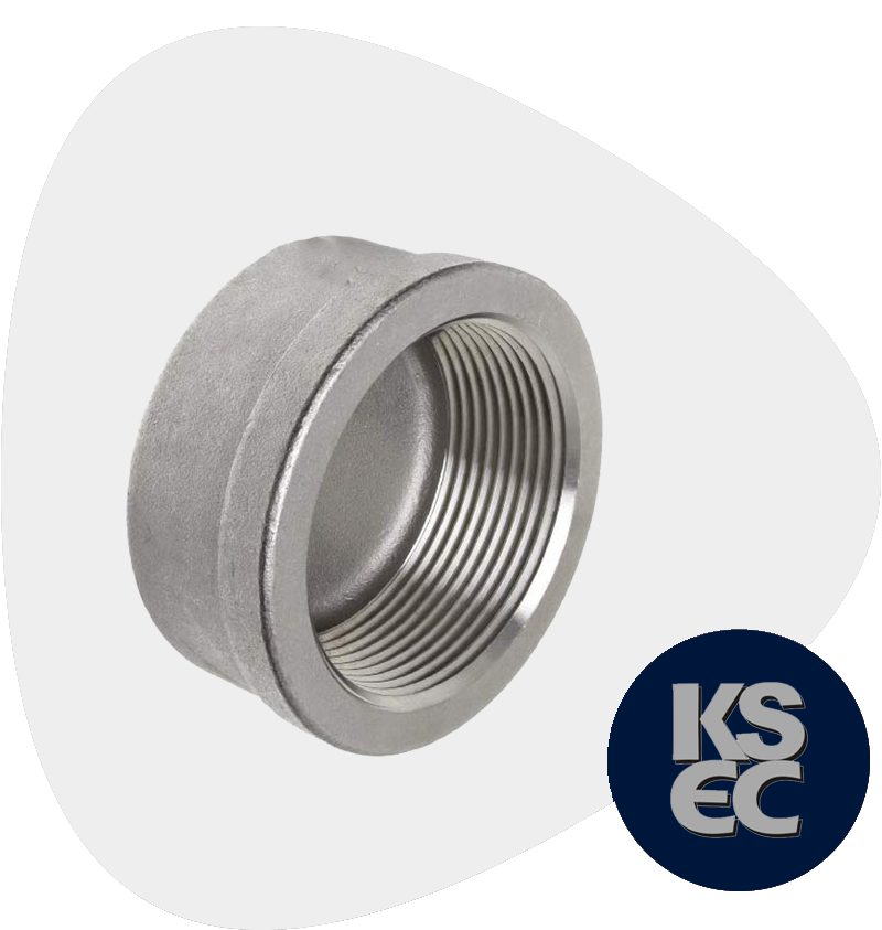 High Nickel Alloy Forged Threaded Pipe Cap
