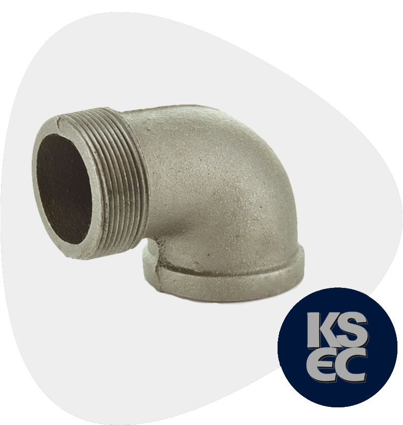 High Nickel Alloy Forged Threaded Street Elbow