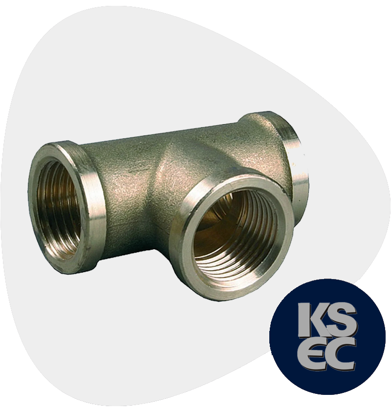 High Nickel Alloy Forged Threaded Tee