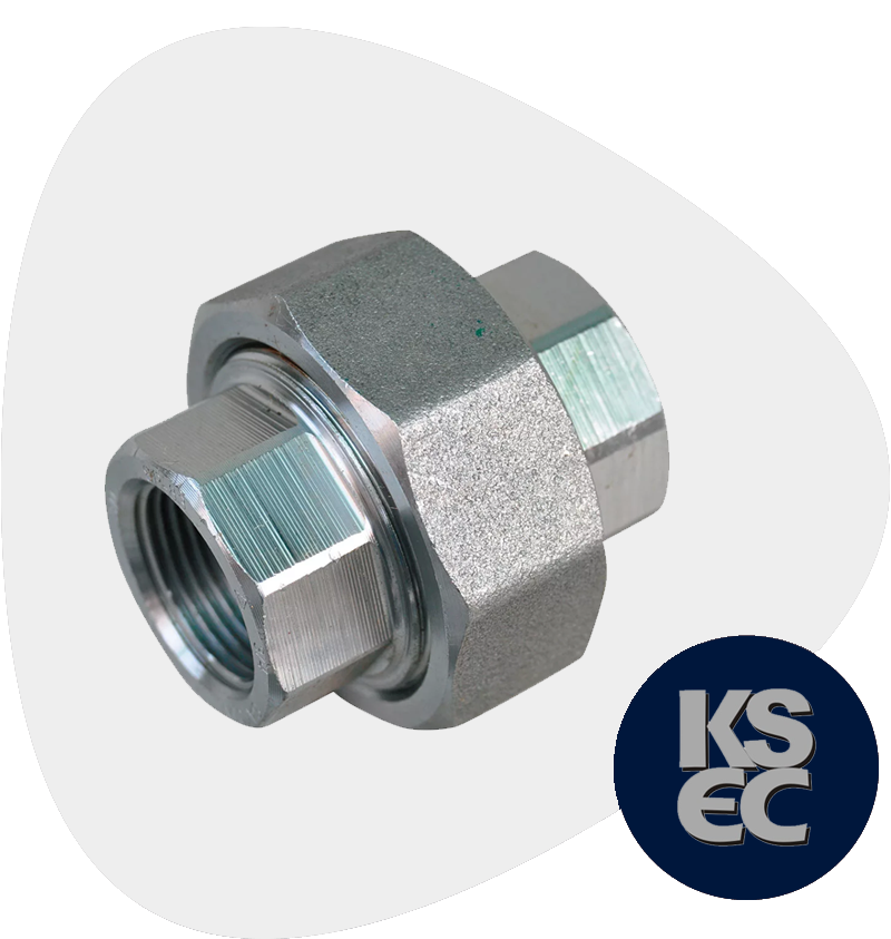 High Nickel Alloy Forged Threaded Union