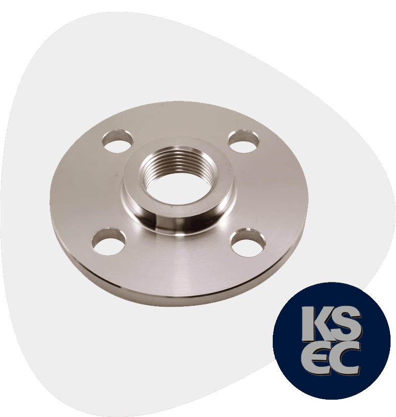 High Nickel Alloy Screwed Flange