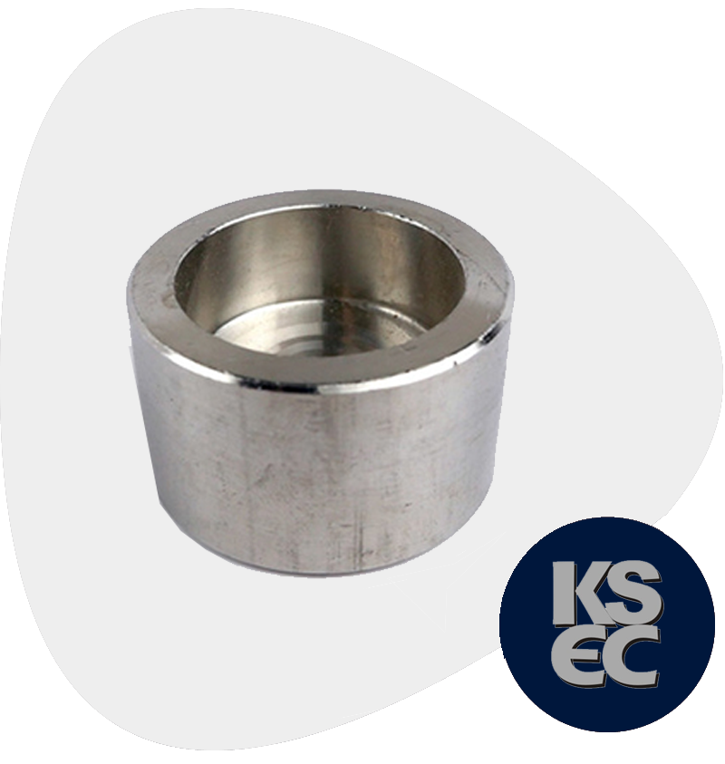 High Nickel Alloy Forged Socket Weld Pipe Cap