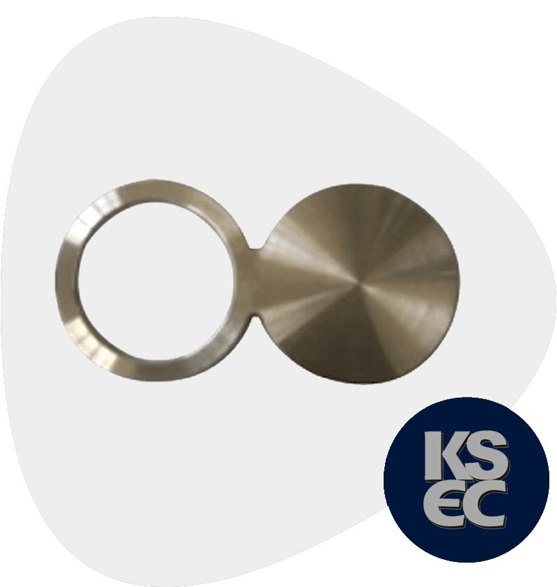 High Nickel Alloy Spectacle Blind Flange