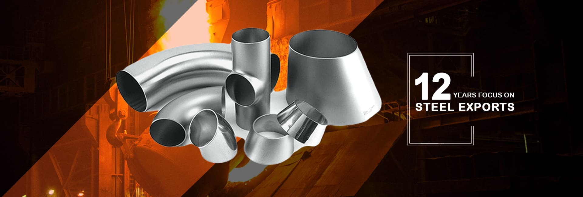 Stainless Steel 304 / 304L Buttweld Pipe Fittings