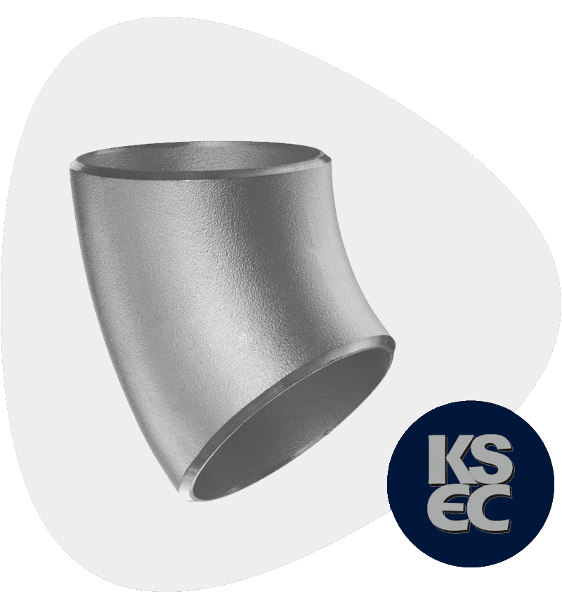 Alloy 20 Butt weld 45 Degree Elbow