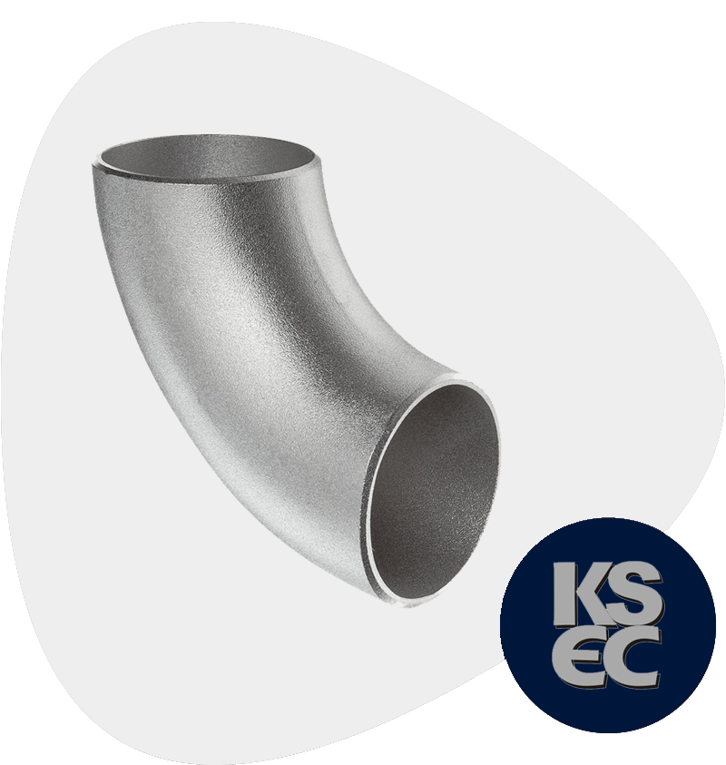 Stainless Steel Butt weld 90° Long Radius Elbow