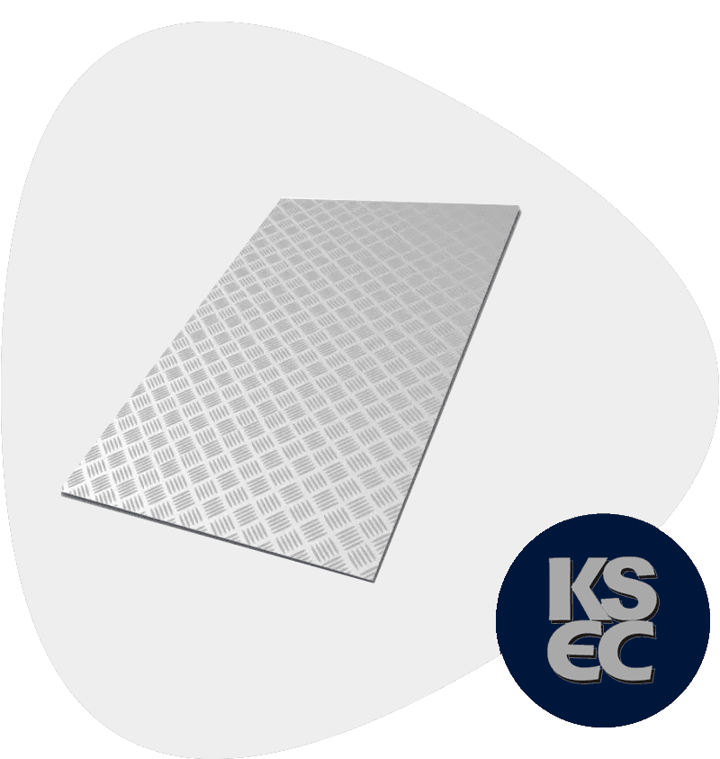 Stainless Steel 321 / 321H Chequered Plates