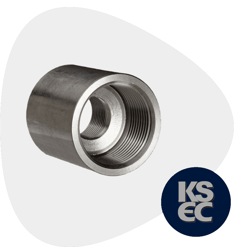 Stainless Steel 316Ti Forged Coupling