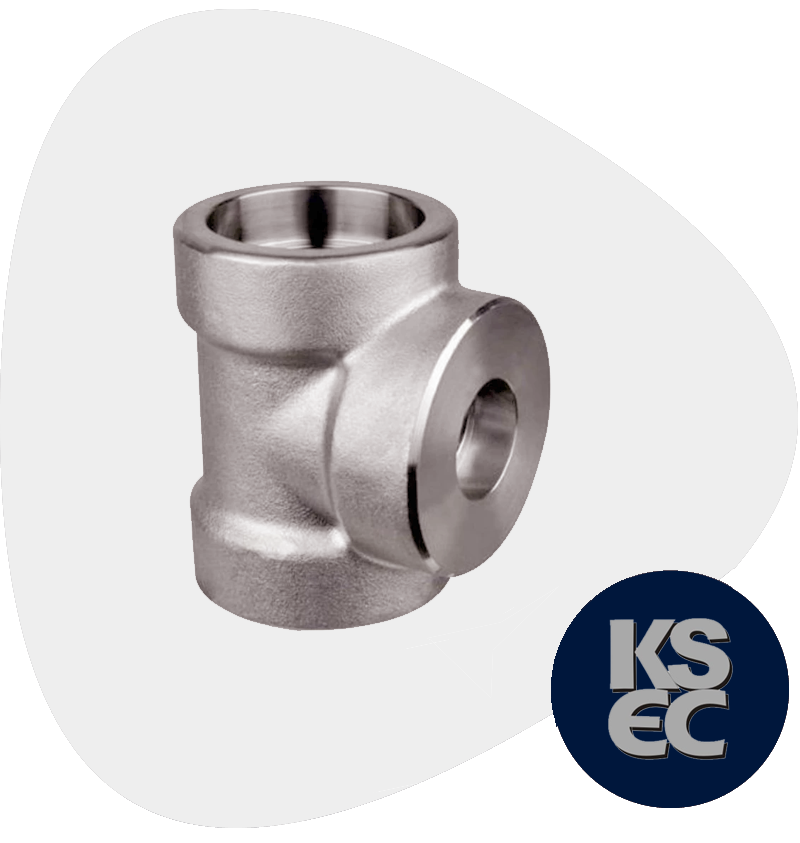 Stainless Steel Forged Socket Weld Unequal Tee