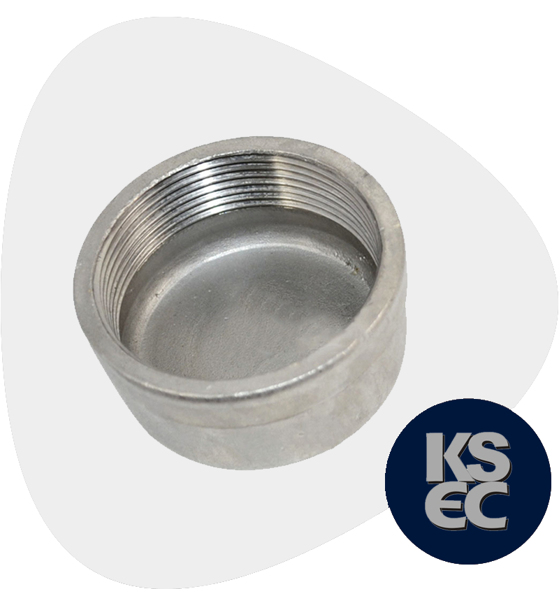 Stainless Steel Forged Threaded Pipe Caps