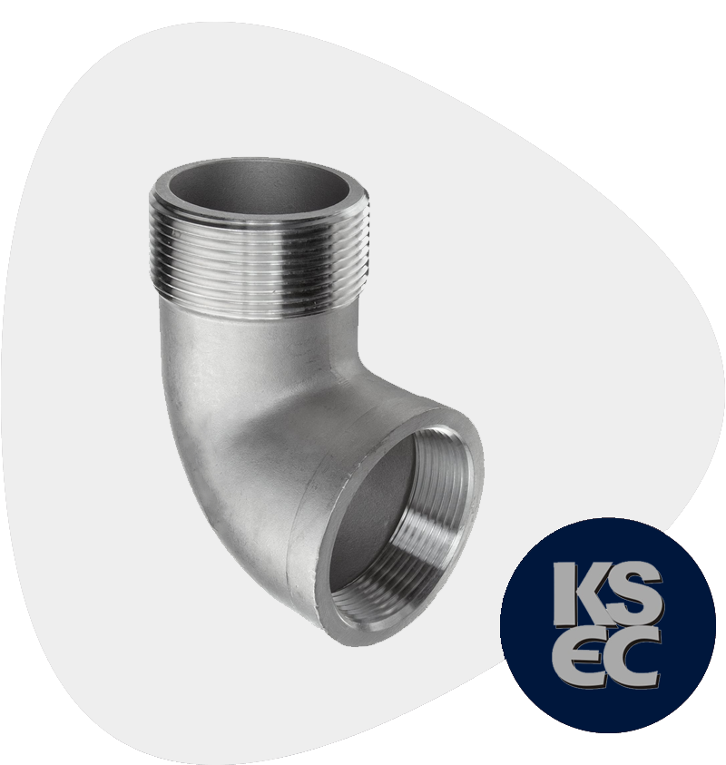 Stainless Steel Forged Threaded Street Elbow
