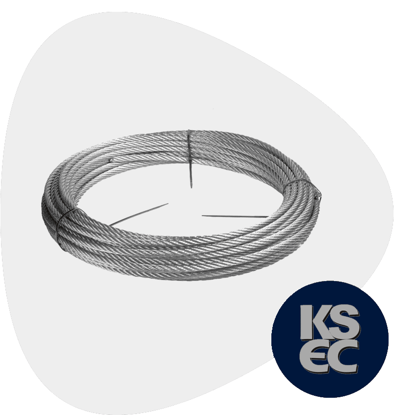 Stainless Steel 316Ti Wire Rope